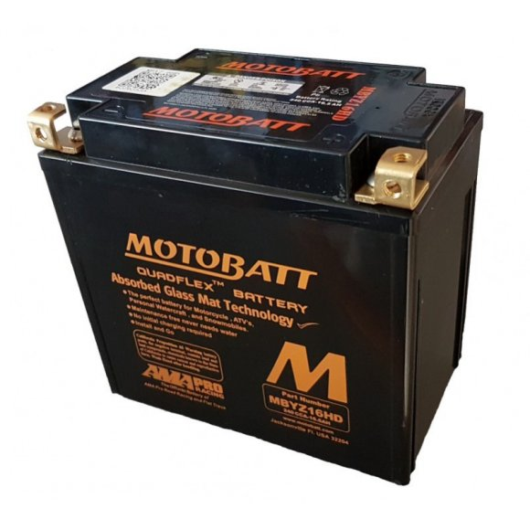 Motobaterie Motobatt MBYZ16HD Harley Davidson 16,5 Ah