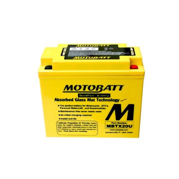Motobaterie MOTOBATT MBTX20U 21 Ah