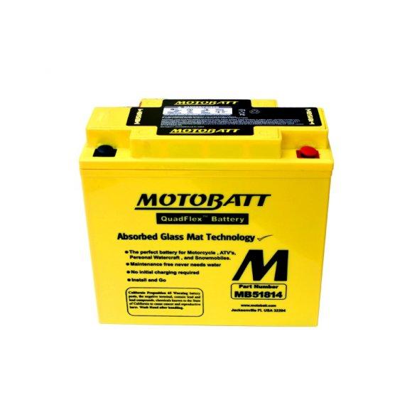 Motobaterie MOTOBATT MB51814 22 Ah