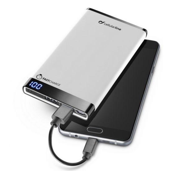 Prémiová powerbanka Cellularline FREEPOWER MANTA 8000mAh - INT79