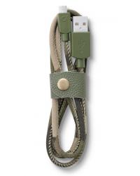 Datový kabel Cellularline LONGLIFE, micro USB, textilní obal - INT81