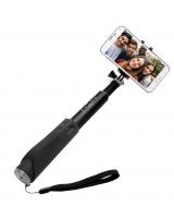 Teleskopický selfie stick FIXED v luxusním hliníkovém provedení s BT spouští - INT89