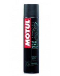 MOTUL E9 WASH&WAX SPRAY 0,400L