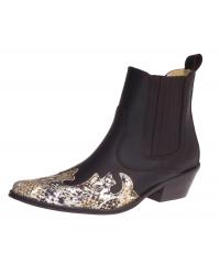 Westernová obuv Koně Johnny Bulls - K099