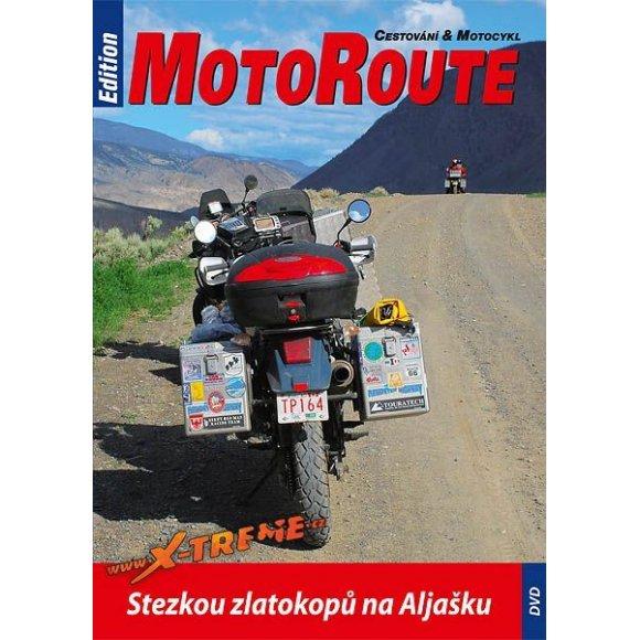 """DVD """"Stezkou zlatokopů na Aljašku"""""""