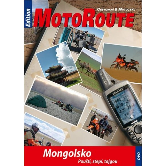 """DVD """"Mongolsko-pouští,stepí,tajgou"""""""