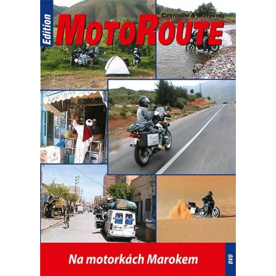 """DVD """"Na motorkách Marokem"""""""