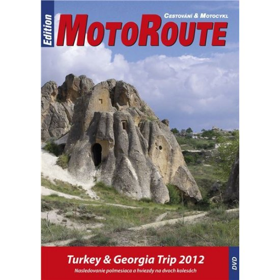 "DVD ""Turecko a Gruzie"""