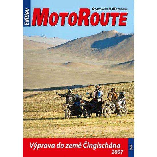 """DVD """"Výprava do země Čingischána"""""""