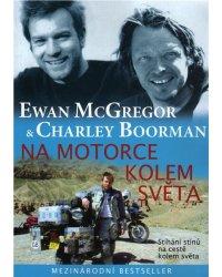 """Kniha """"Na motorce kolem světa"""""""