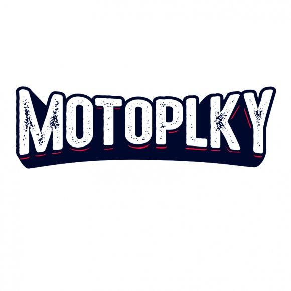 Samolepka logo Motoplky menší