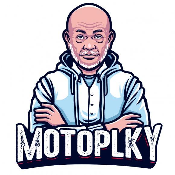 Samolepka Motoplky s obrázkem