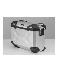 Hliníkový kufr SW-MOTECH TRAX Adventure 37l stříbrný - KUF035