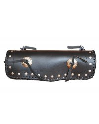 Leather front chopper bag - ROL02