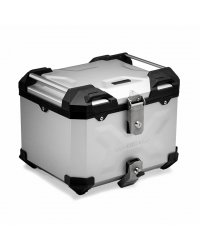 Aluminium Suitcase Top Box SW Motech TRAX Adventure 38 Silver