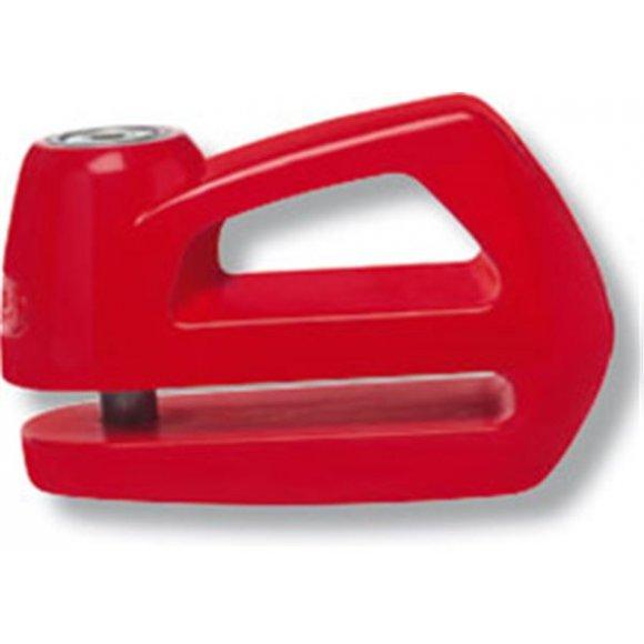 Zámek na kotoučovou brzdu Abus Element 285 červený, 5 mm - ZAM037