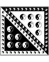 Šátek bavlněný čtverec - SA20 -4