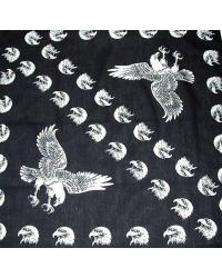 Šátek bavlněný čtverec - SA20 -9
