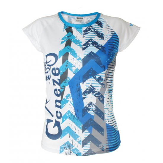 Dámské bílé tričko Geneze - TR026