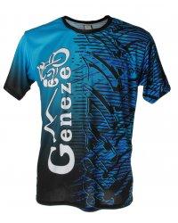 Modré tričko Geneze - TR030