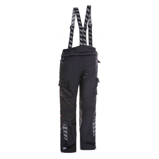 Motocyklové kalhoty Rukka ROUGHROAD černé - TK01