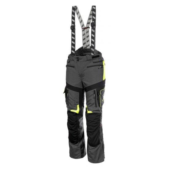 Motocyklové kalhoty Rukka ROUGHROAD šedé - TK02