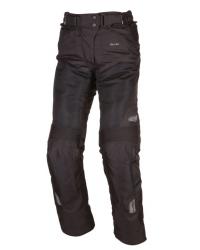 Pánské tmavé motocyklové textilní kalhoty Modeka UPSWING