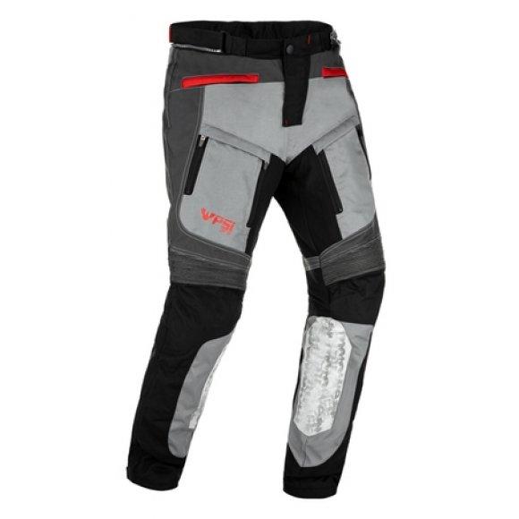 Motocyklové kalhoty PSÍ Flag šedé