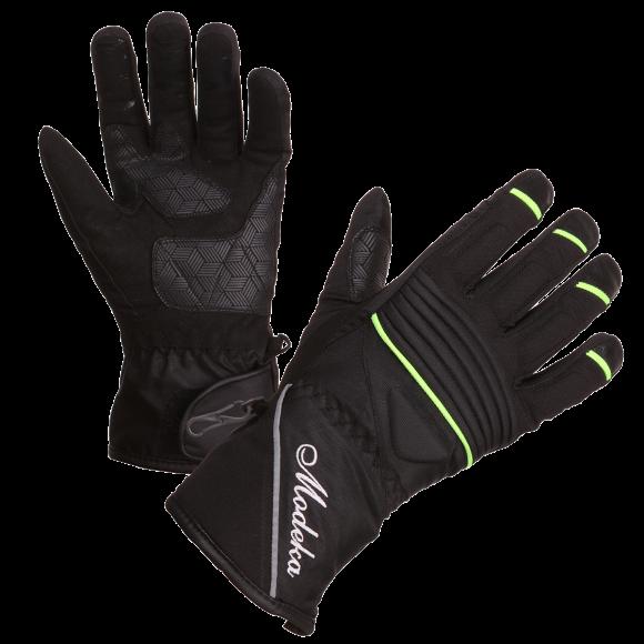 Motocyklové kožené rukavice dámské Modeka Janika - RK02