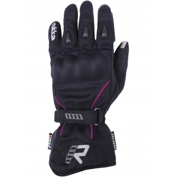 Dámské motocyklové rukavice RUKKA VIRVE růžové