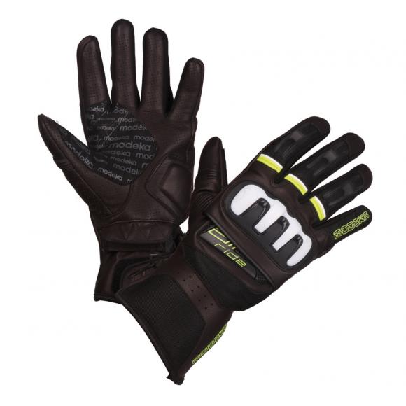 Letní motocyklové kožené rukavice Modeka AIR RIDE - RK19