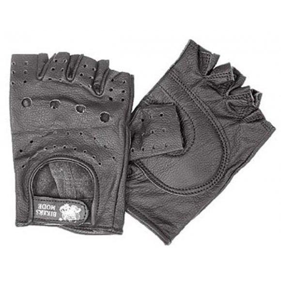 Motocyklové kožené rukavice - RK26