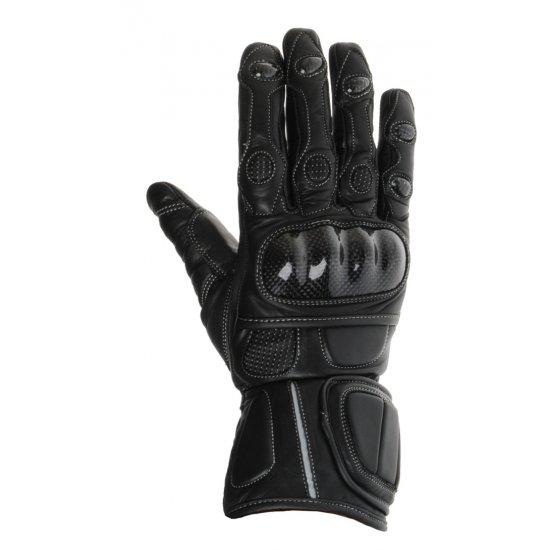 Motocyklové kožené rukavice Geneze - RK30