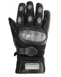 Motocyklové kožené rukavice Geneze - RK36