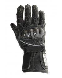 Motocyklové kožené rukavice Geneze - RK45