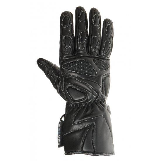 Motocyklové kožené rukavice Modeka Summer Ice - RK62