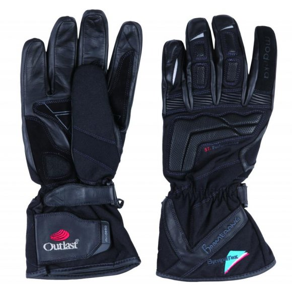 Motocyklové kožené rukavice Modeka BOOMERANG - RK64