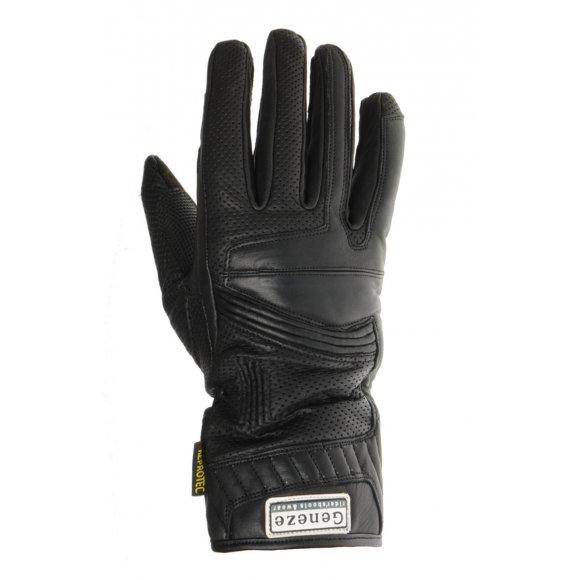 Motocyklové kožené rukavice Geneze - RK71