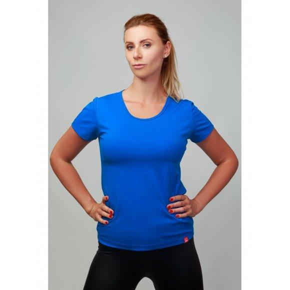 Dámské bavlněné tričko CityZen modré