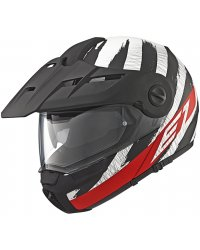 Enduro vyklápěcí přilba SCHUBERTH E1 Hunter Red