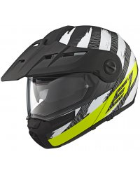Enduro vyklápěcí přilba SCHUBERTH E1 Hunter Yellow