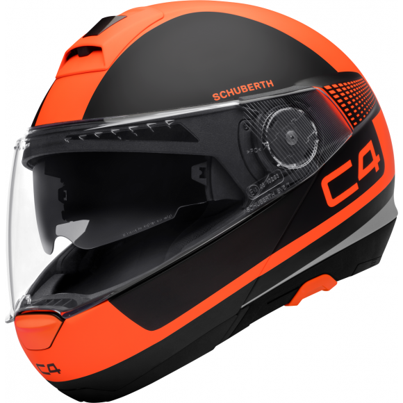 Vyklápěcí přilba SCHUBERTH C4 Legacy Orange