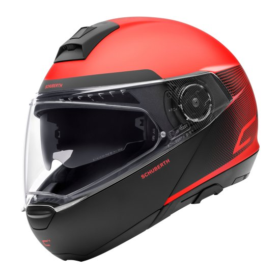 Vyklápěcí přilba SCHUBERTH C4 Resonance Red