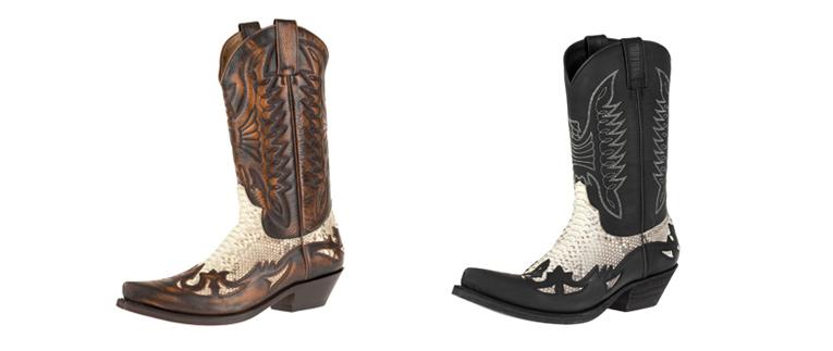 Westernové boty na motorku