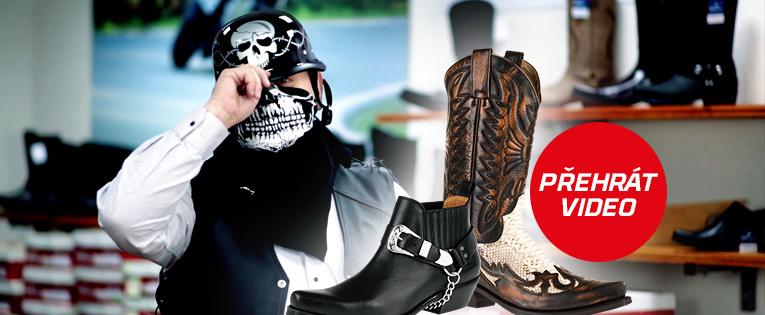 Westernová obuv Johnny Bulls a Mayura