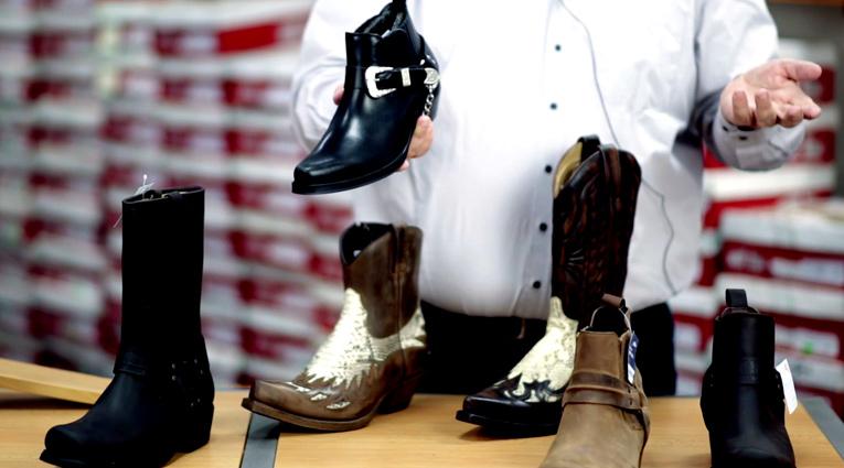 Westernová obuv