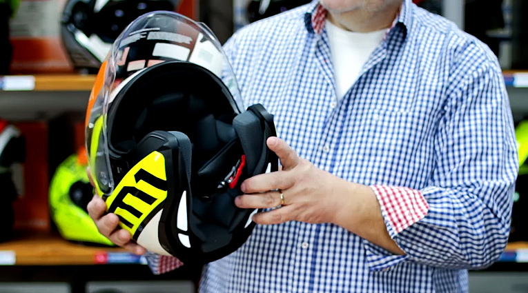 otevřená helma schuberth m1