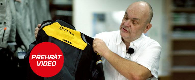 Set moto oblečení Rockway