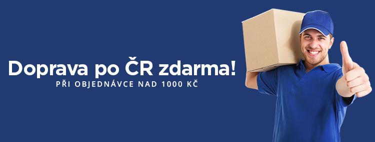 3b9eba73f Při objednávce nad 1000 Kč máte dopravu po České republice zdarma. Cena  dopravy na Slovensko je 180,- Kč a je realizována společností Geis parcel.